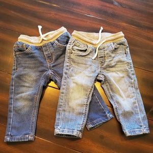Cat and Jack skinny jeans size 12months